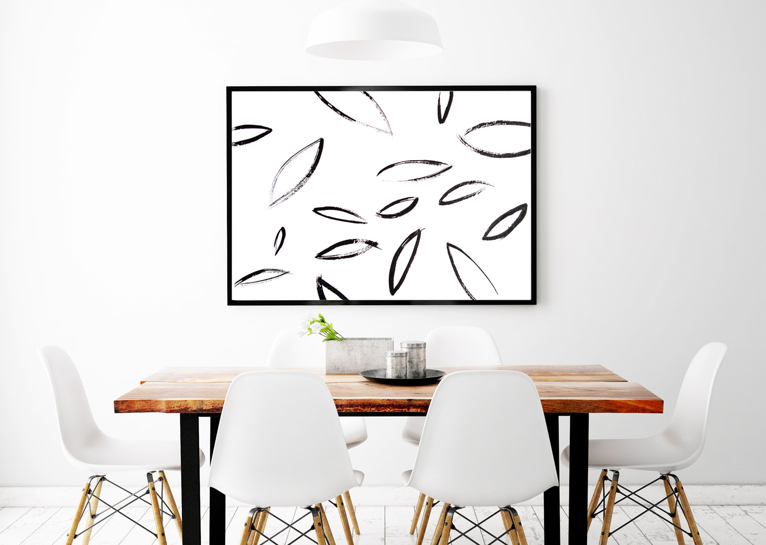 ORIGINAL ART + MODERN INTERIORS